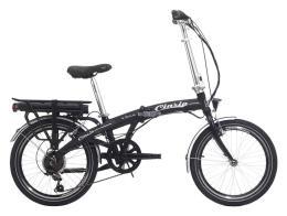 Bici Elettrica Pieghevole Cinzia Elfyn 20 6V 250W Nero Opaco