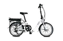 Bici Elettrica Pieghevole Electri Class 20 7V Brushless Bianco