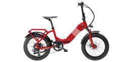 Bici Elettrica Pieghevole Garelli Ciclone Passion Rosso