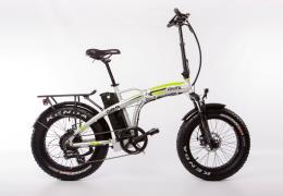 Bici Elettrica Pieghevole Giama Fanatic 20 250W Alluminio Verde