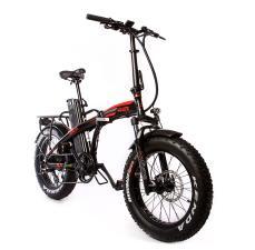 Bici Elettrica Pieghevole Giama Fanatic 20 500W Nero Rossa