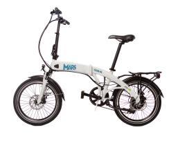 Bici Elettrica Pieghevole Giama Mars 20 250W Bianca