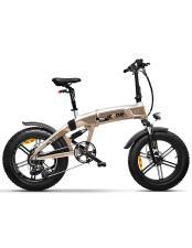 Bici Elettrica Pieghevole iCone ICross X7 Titanio