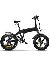 Bici Elettrica Pieghevole iCone Idesert X5 Dark Night Nero