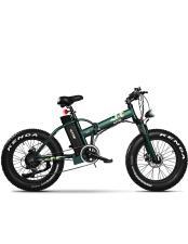 Bici Elettrica Pieghevole ICONE iMonster Green 20 7V Verde