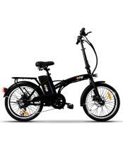 Bici Elettrica Pieghevole iCone One Easy 6V Nera