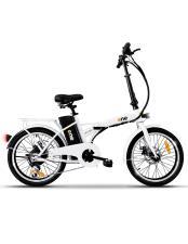 Bici Elettrica Pieghevole iCone One Easy 6V Shining Bianca