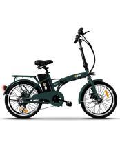 Bici Elettrica Pieghevole iCone One Easy 6V Verde Foresta