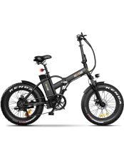 Bici Elettrica Pieghevole Icone Pure 20 Nera
