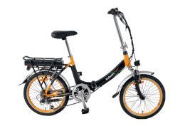 Bici Elettrica Pieghevole Italwin Flipper 20 11.6Ah Nero