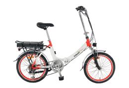 Bici Elettrica Pieghevole Italwin Flipper 20 14Ah Bianco