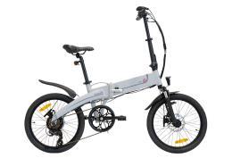 Bici Elettrica Pieghevole Italwin K2S 20 9.6Ah Grigio Chiaro