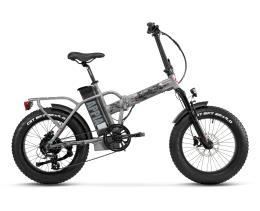 Bici Elettrica Pieghevole Lombardo Appia 7V Chrome Army Opaco