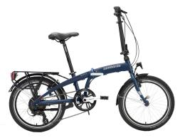 Bici Elettrica Pieghevole Lombardo Ischia 20 6V Blu Notte Opaco