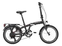 Bici Elettrica Pieghevole Lombardo Ischia 20 6V Titanio Opaco