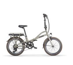 Bici Elettrica Pieghevole MBM E-Metro 20 7V Grigio