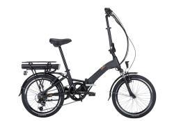 Bici Elettrica Pieghevole Montana SW7 Folding 20 6V Nero