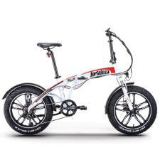 Bici Elettrica Pieghevole NCX Fortalezza 20 250W Bianco Rossa