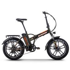 Bici Elettrica Pieghevole NCX Quasar 20 250W 36V Nera