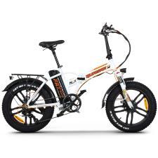Bici Elettrica Pieghevole NCX Quasar 20 250W 48V Bianco Arancio