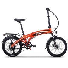Bici Elettrica Pieghevole NCXBahia 250W 36V Arancio