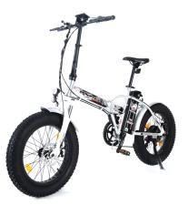 Bici Elettrica Pieghevole Raptor 20 250W Bianco Nera