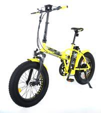 Bici Elettrica Pieghevole Raptor 20 250W Gialla