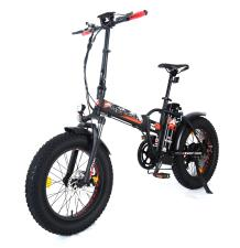 Bici Elettrica Pieghevole Raptor 20 250W Nera Rossa