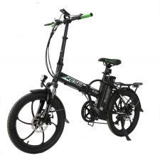 Bici Elettrica Pieghevole Reset New Pocket Nero