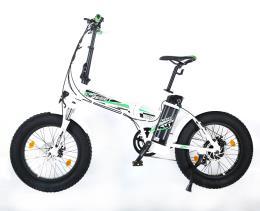 Bici Elettrica Pieghevole Reset Redwood 20 250W Bianca