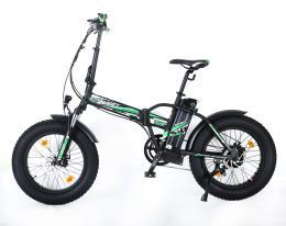 Bici Elettrica Pieghevole Reset Redwood 20 250W Nera Verde