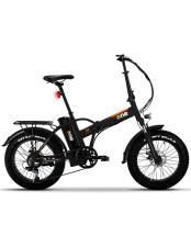 Bici Elettrica Pieghevole The One RS3 7V Nero Opaco