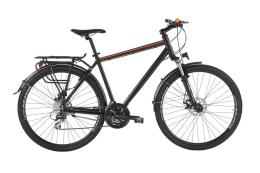 Bici Ibrida Alpina All Rosa 28 Uomo 24V Nero Opaco