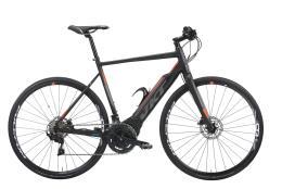 Bici Ibrida Elettrica Vektor Xonar Sport 105 Polini Nero Arancio