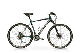Bici Ibrida SpeedCross Season Cross 28 21V Nero