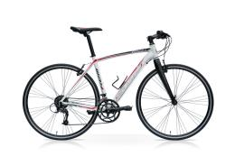 Bici Ibrida SpeedCross Way 28 27V Bianca