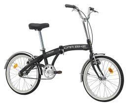 Bici Pieghevole Cinzia Car Bike 20 1V Nero Opaco