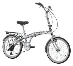 Bici Pieghevole Cinzia Car Bike 20 6V Argento Lucido