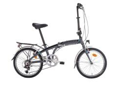 Bici Pieghevole Montana Twist 20 6V Revo Grigio