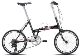 Bici Pieghevole Torpado Flat Folding TX800 8V Nera