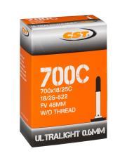 CAMERA'ARIA CST ULTRALIGHT 700X18-25C 62g. val. presta 48 mm