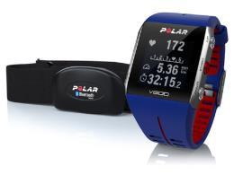 Cardiofrequenzimetro Polar V800 Hr Blu + Fascia