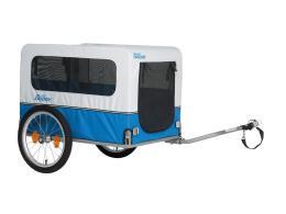 Carrello Bici XLC Doggy Van Argento Blu