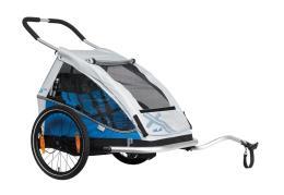 Carrello Bici XLC Duo8Teen Blu Due Posti