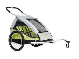 Carrello Bici XLC Duo8Teen Limone