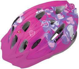Casco Bambina Limar Pink Hearts Tg M 50-56