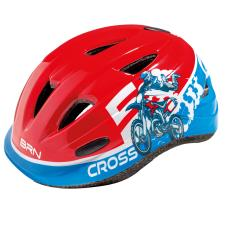 Casco Bambino BRN Cross