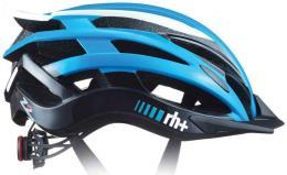 Casco Bici RHpiu Z2IN1 Salina Azzurro Lucido Bianco Lucido