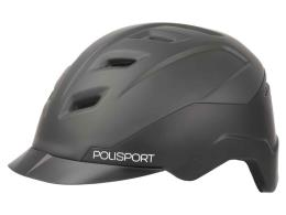 Casco Polisport E City Nero