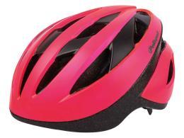 Casco Polisport Sport Ride Fuxia Fluo Nero